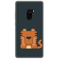 Funda Gel Tpu para Xiaomi Mi Mix 2 Diseño Tigre Dibujos