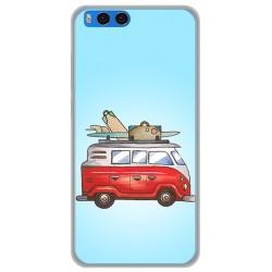 "Funda Gel Tpu para Xiaomi Mi Note 3 5.5"" Diseño Furgoneta Dibujos"