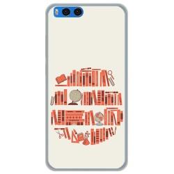 Funda Gel Tpu para Xiaomi Mi Note 3 5.5 Diseño Mundo Libro Dibujos