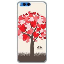 Funda Gel Tpu para Xiaomi Mi Note 3 5.5 Diseño Pajaritos Dibujos