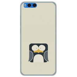 Funda Gel Tpu para Xiaomi Mi Note 3 5.5 Diseño Pingüino Dibujos