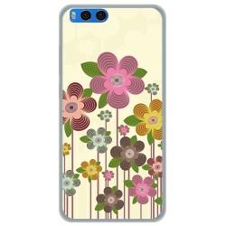 Funda Gel Tpu para Xiaomi Mi Note 3 5.5 Diseño Primavera En Flor  Dibujos