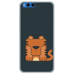 Funda Gel Tpu para Xiaomi Mi Note 3 5.5 Diseño Tigre Dibujos