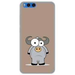 Funda Gel Tpu para Xiaomi Mi Note 3 5.5 Diseño Toro Dibujos