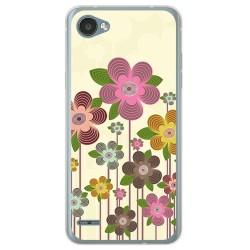 Funda Gel Tpu para Lg Q6 Diseño Primavera En Flor Dibujos
