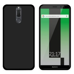 Funda Gel Tpu para Huawei Mate 10 Lite Color Negra