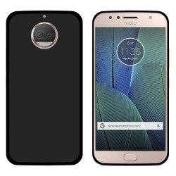 Funda Gel Tpu para Motorola Moto G5S Plus Color Negra
