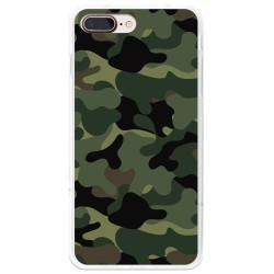 Funda Gel Tpu para Iphone 7 Plus / 8 Plus Diseño Camuflaje Dibujos