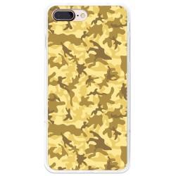 Funda Gel Tpu para Iphone 7 Plus / 8 Plus Diseño Sand Camuflaje Dibujos