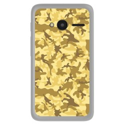 "Funda Gel Tpu Orange Rise 31 / Alcatel Pixi 4 (4"") Sand Camuflaje Dibujos"