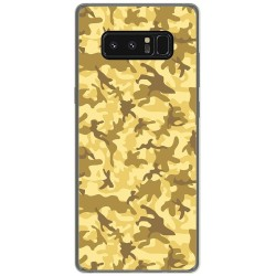 Funda Gel Tpu para Samsung Galaxy Note 8 Diseño Sand Camuflaje Dibujos
