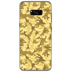 Funda Gel Tpu para Samsung Galaxy S8 Plus Diseño Sand Camuflaje Dibujos