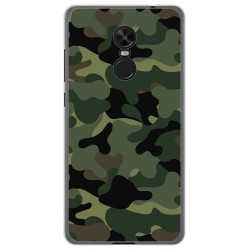 Funda Gel Tpu para Xiaomi Redmi Note 4X / 4 Version Global Diseño Camuflaje Dibujos