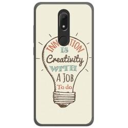 Funda Gel Tpu para Wiko View Prime Diseño Creativity Dibujos