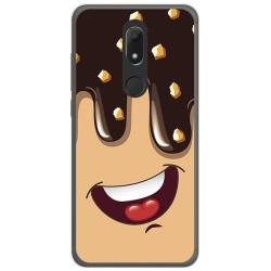 Funda Gel Tpu para Wiko View Prime Diseño Helado Chocolate Dibujos