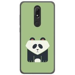Funda Gel Tpu para Wiko View Prime Diseño Panda Dibujos