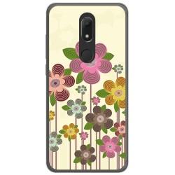Funda Gel Tpu para Wiko View Prime Diseño Primavera En Flor Dibujos
