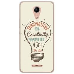 Funda Gel Tpu para Wiko Tommy2 Diseño Creativity Dibujos