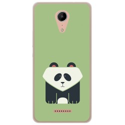 Funda Gel Tpu para Wiko Tommy2 Diseño Panda Dibujos