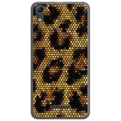 Funda Gel Tpu para Wiko Lenny4 Diseño Leopardo Dibujos
