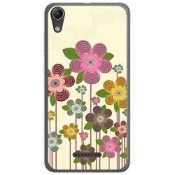 Funda Gel Tpu para Wiko Lenny4 Diseño Primavera En Flor Dibujos