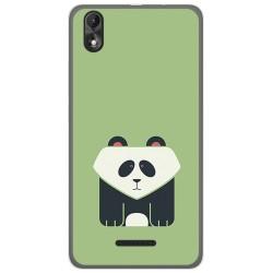 Funda Gel Tpu para Wiko Lenny4 Plus Diseño Panda Dibujos
