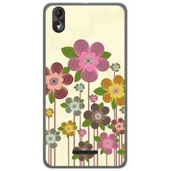 Funda Gel Tpu para Wiko Lenny4 Plus Diseño Primavera En Flor  Dibujos