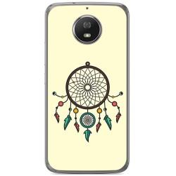 Funda Gel Tpu para Motorola Moto G5S Diseño Atrapasueños Dibujos