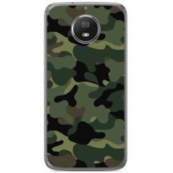 Funda Gel Tpu para Motorola Moto G5S Diseño Camuflaje Dibujos