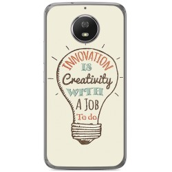 Funda Gel Tpu para Motorola Moto G5S Diseño Creativity Dibujos