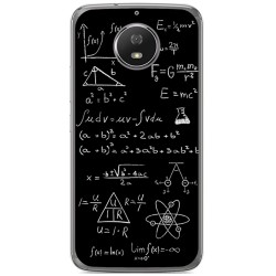 Funda Gel Tpu para Motorola Moto G5S Diseño Formulas Dibujos