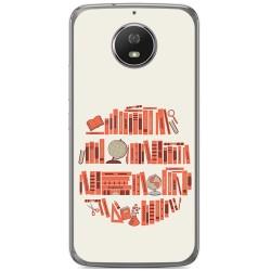Funda Gel Tpu para Motorola Moto G5S Diseño Mundo Libro Dibujos