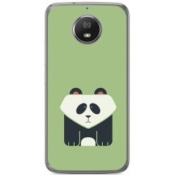 Funda Gel Tpu para Motorola Moto G5S Diseño Panda Dibujos