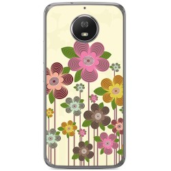 Funda Gel Tpu para Motorola Moto G5S Diseño Primavera En Flor Dibujos