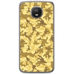 Funda Gel Tpu para Motorola Moto G5S Diseño Sand Camuflaje Dibujos