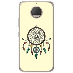 Funda Gel Tpu para Motorola Moto G5S Plus Diseño Atrapasueños Dibujos