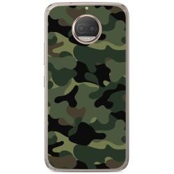 Funda Gel Tpu para Motorola Moto G5S Plus Diseño Camuflaje Dibujos