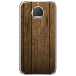 Funda Gel Tpu para Motorola Moto G5S Plus Diseño Madera Dibujos
