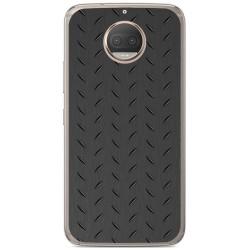 Funda Gel Tpu para Motorola Moto G5S Plus Diseño Metal Dibujos