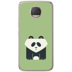 Funda Gel Tpu para Motorola Moto G5S Plus Diseño Panda Dibujos