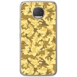 Funda Gel Tpu para Motorola Moto G5S Plus Diseño Sand Camuflaje Dibujos