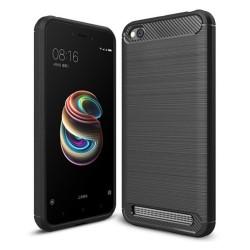 """Funda Gel Tpu Tipo Carbon Negra para Xiaomi Redmi 5A 5"""""""
