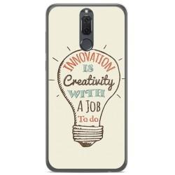 Funda Gel Tpu para Huawei Mate 10 Lite Diseño Creativity Dibujos