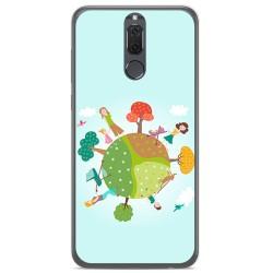 Funda Gel Tpu para Huawei Mate 10 Lite Diseño Familia Dibujos