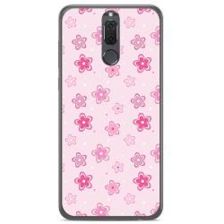 Funda Gel Tpu para Huawei Mate 10 Lite Diseño Flores Dibujos