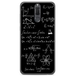 Funda Gel Tpu para Huawei Mate 10 Lite Diseño Formulas Dibujos