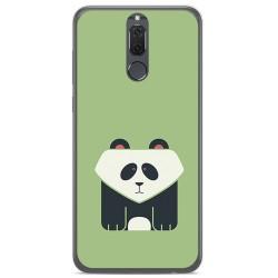 Funda Gel Tpu para Huawei Mate 10 Lite Diseño Panda Dibujos