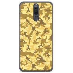 Funda Gel Tpu para Huawei Mate 10 Lite Diseño Sand Camuflaje Dibujos