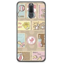Funda Gel Tpu para Huawei Mate 10 Lite Diseño Sellos Dibujos