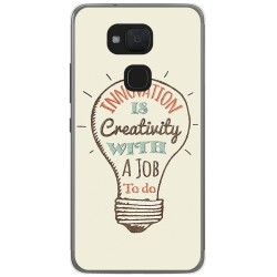 Funda Gel Tpu para Bq Aquaris V Plus / Vs Plus Diseño Creativity Dibujos